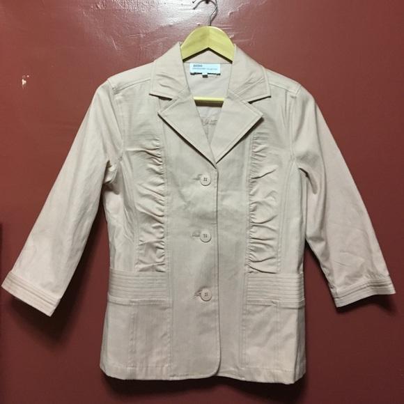 830f78b9f00d3c Jackets & Coats   Bess Light Pink Blazer   Poshmark